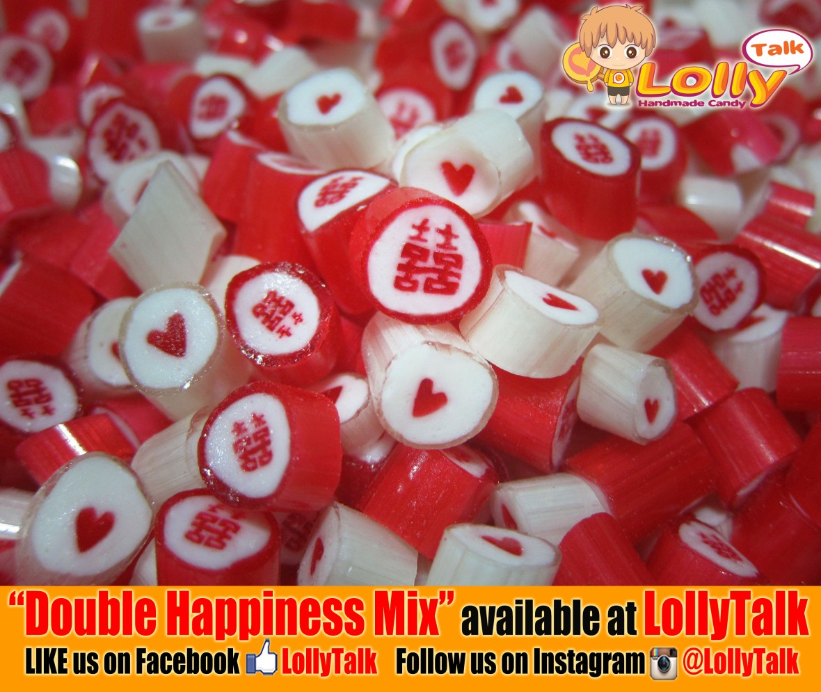 Double Happiness Candy...