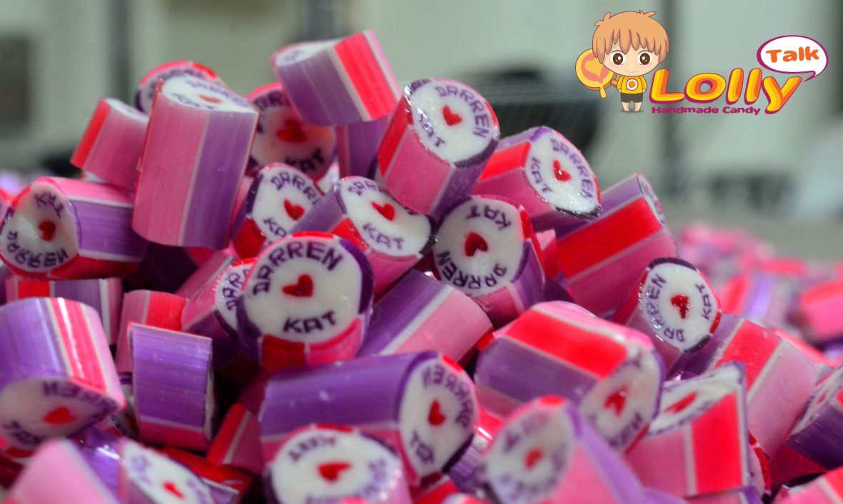 Customized Wedding Candy with Couple's names handcrafted into the lolly...