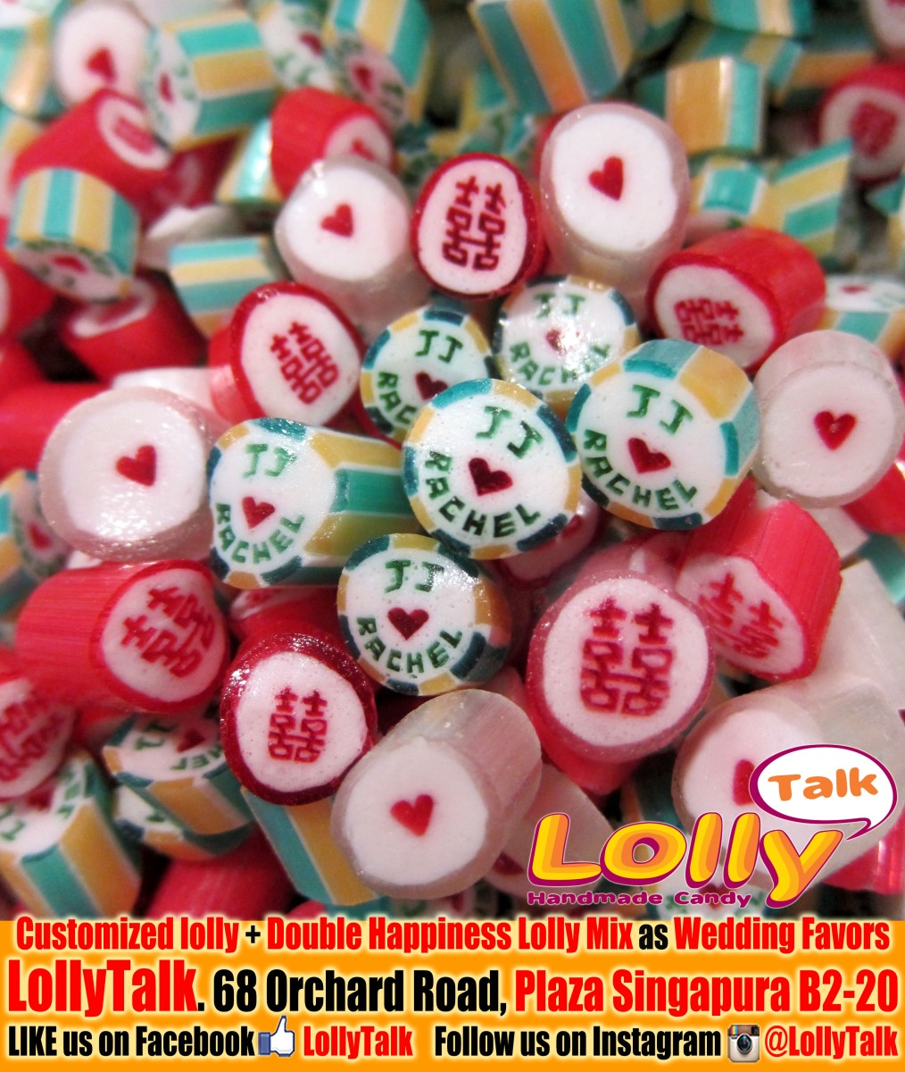 customized candy readily made wedding candy by lollytalk